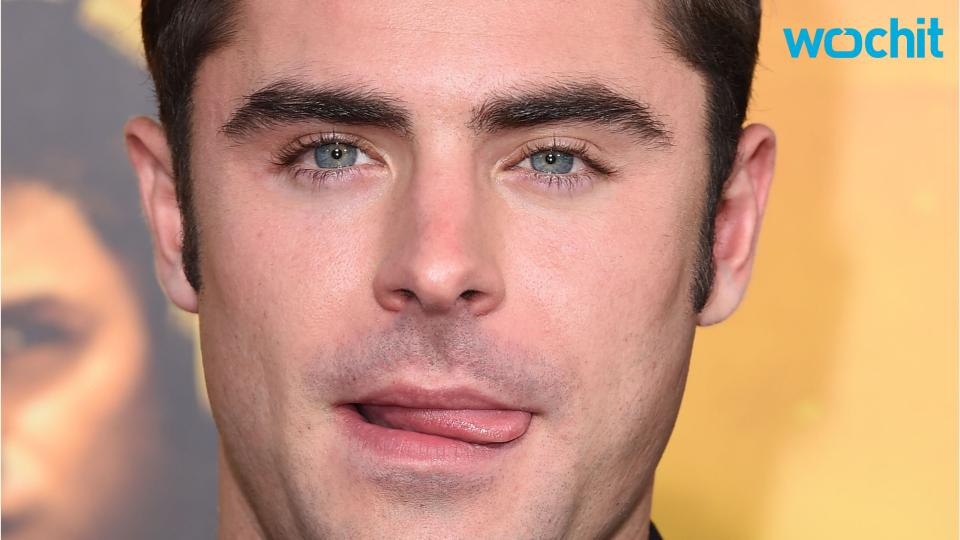 Zac Efron Is Taking No...